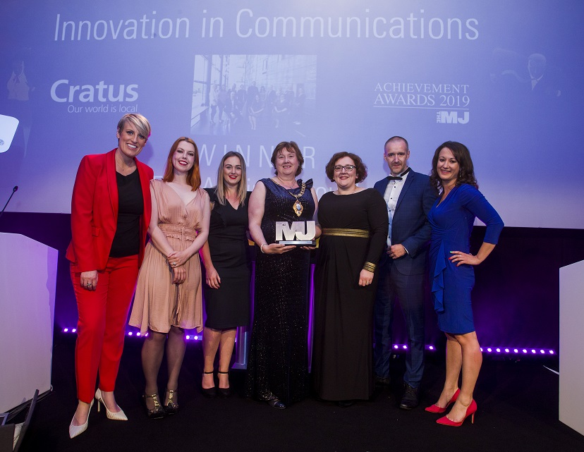 Innovation in Communication - Mid and East Antrim Borough Council (Sponsor: Cratus)